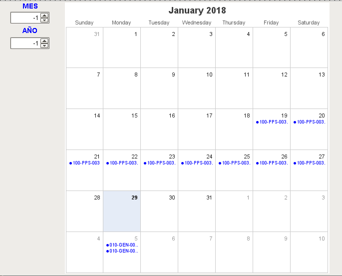 Pps Calendar.How To Create A Calendar Similar To Outlook Or Google With Month